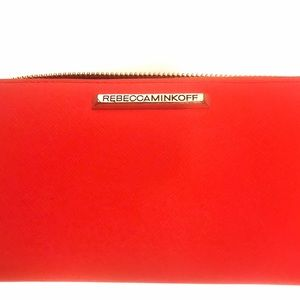 Authentic Rebecca Minkoff Red Wallet